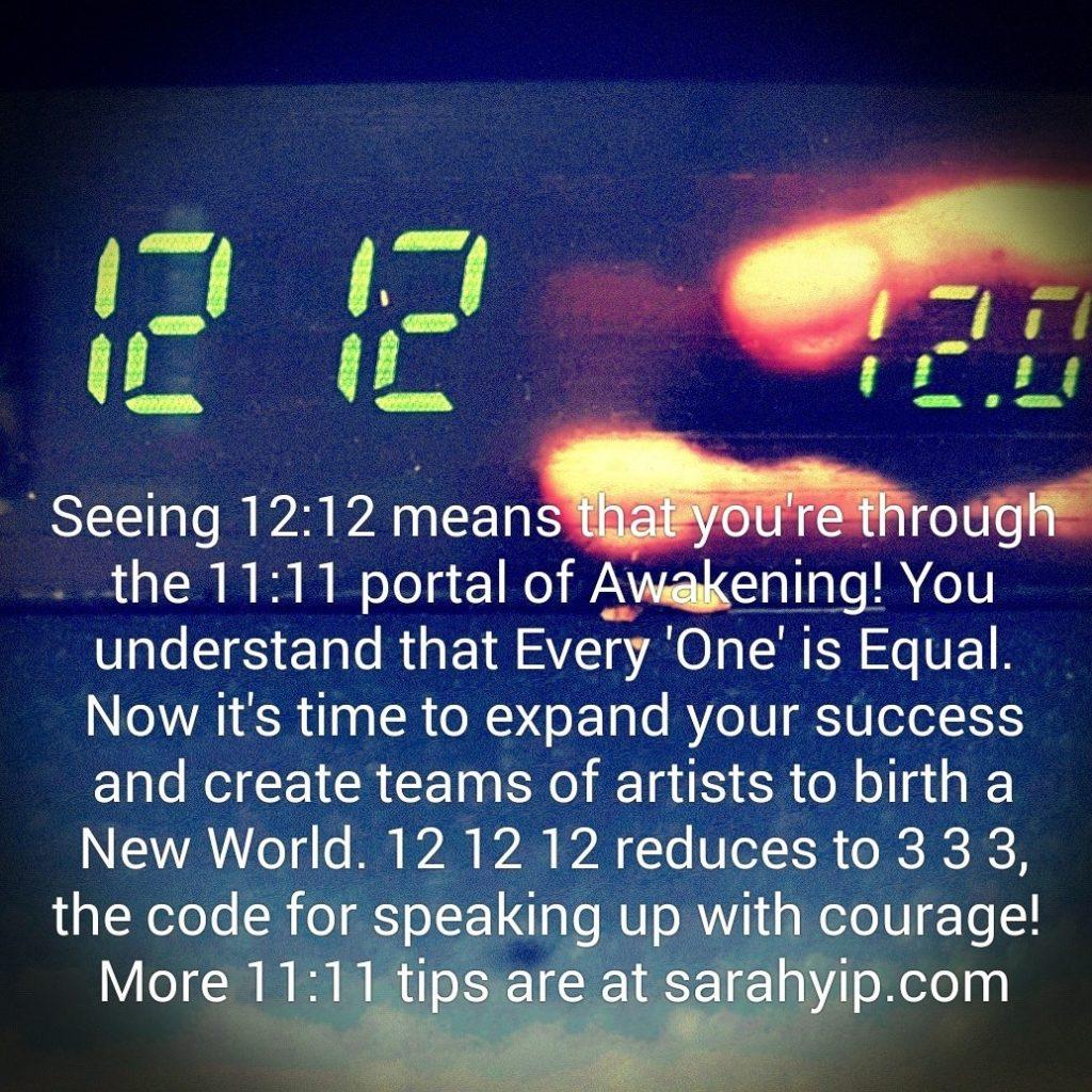 1212 Numerology